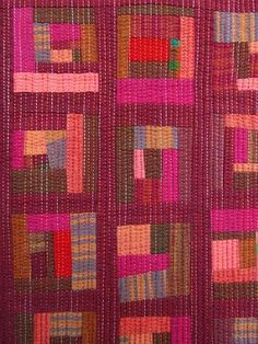 I'm not actually sure if this is a quilt or a fabric or what, but I love the colors.