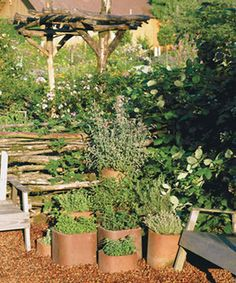 Clay Chimney Flue Liner | Chimney-flue liners as planters | Upcycled Garden Style | Scoop.it