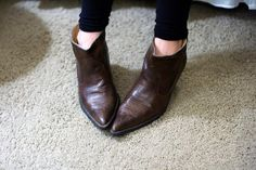 18 DIY Ways To Boost Your Boots via Brit + Co