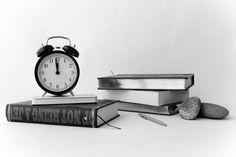 clock and book by ahmet hamdi