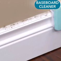 Adjustable Conforming Baseboard Cleaner - Want to restore your baseboards and trims to the way they looked when they were freshly painted? Deep Cleaning Tips, House Cleaning Tips, Spring Cleaning, Diy Home Cleaning, Bathroom Cleaning Hacks, Cleaning Products, Baseboard Cleaner, Cleaning Baseboards, Caulk Baseboards
