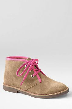 Girls' Joanie Chukka Boots from Lands' End
