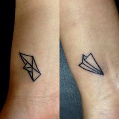 15 Friendship Tattoos That Aren't Totally Cheesy via Brit + Co.