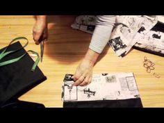 Návod na ušítí kabelky část 1. - YouTube