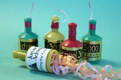 Custom Label Party Poppers | Celebrate Line
