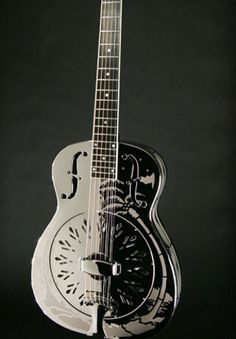 Steel Acoustic Guitar  Probably the coolest thing ever