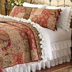 Ruffle Sheets and Bedskirt