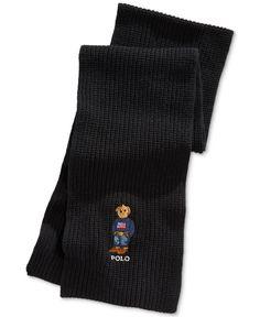 58837ee142d Polo Ralph Lauren Embroidered Bear Muffler Men - Hats