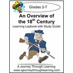 Overview of 18th Century Lapbook with Study Guide--8.00