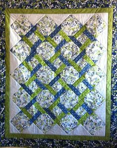 Garden Twist Quilt Sewing Quilts Free Pattern