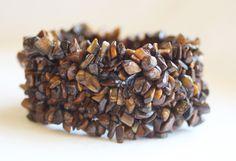 Golden Tiger's Eye Chip Cuff Bracelet.   , $7.00 (http://lifeisagiftshop.com/natural-gemstone-chip-cuff-bracelet/)