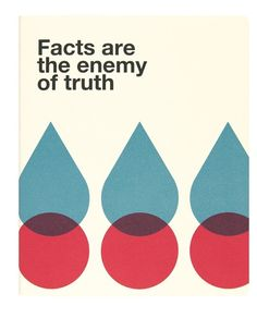Ogami - Facts Are The Enemy Of Truth (Regular)  Notebook $20.00 #stationery