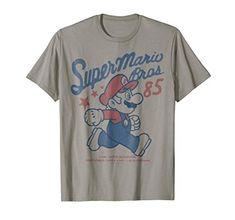 Super Mario Bros World Retro Riding Yoshi Pixel Tall Men/'s T-Shirt Navy