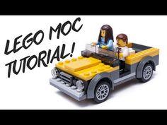 how to make LEGO City 60150 custom Jungle JEEP moc tutorial - YouTube