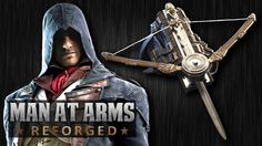 """Man At Arms Creates A Real Phantom Blade From """"Assassin's Creed Unity"""" Blade [Video] Arno Dorian, Assassins Creed Unity, Baptized In Fire, Assassin's Creed Hidden Blade, Gamer's Guide, All Assassin's Creed, Swords And Daggers, Batman Art, Lame"""