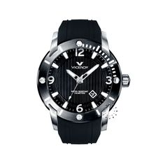 VICEROY Date Black Rubber Strap  167€  http://www.oroloi.gr/product_info.php?products_id=26834