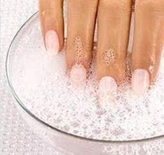 Homemade nail whitener