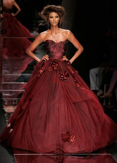 Elie Saab I love this dress but this girl needs more food and less tan.