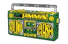 Puma USA Usain Bolt DJ Jammin' – Oscar Wilson – Illustrators & Artists Agents – Début Art