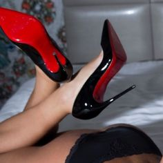 Size 9 Loubs Worn 1 time to shoot in Christian Louboutin Shoes