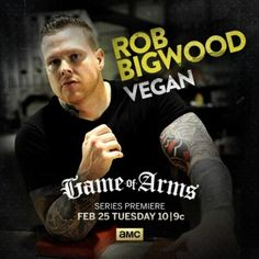 The Thinking Vegan's excellent interview with Rob Bigwood. Of all his big, strong muscles, it's his big, strong heart that is the most powerful and impressive!