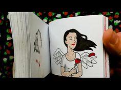 'I Love You' Flipbook Animation - YouTube Más