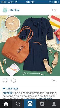 Cute dress for fall