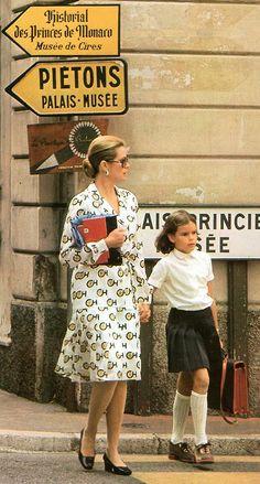 Princess Grace of Monaco Princess Caroline Of Monaco, Princess Stephanie, Princesa Grace Kelly, Camille Gottlieb, Patricia Kelly, Grace Kelly Style, Princesa Carolina, Monaco Royal Family, Charlotte Casiraghi