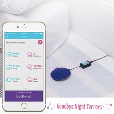 This sleep device is an excellent method to overcome night terrors in children.