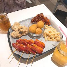 K Food, Food Porn, Good Food, Yummy Food, Kawaii Cooking, Lunch Catering, Tea Snacks, Cafe Food, Aesthetic Food