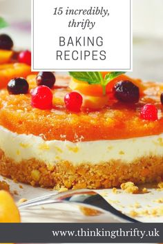 15 incredibly thrifty baking recipes to celebrate Great British Bake Off Cooking For A Crowd, Cooking On A Budget, Budget Meals, Budget Recipes, Good Food, Yummy Food, Great British Bake Off, Baking Recipes, Pantry