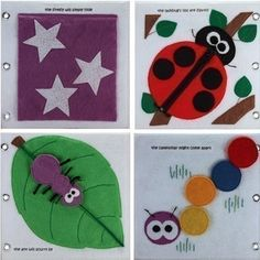 Quiet Book-Bugs...I used to have one when I was a kid
