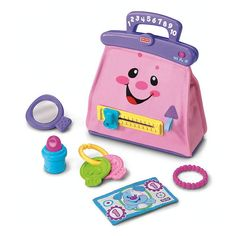 Fisher Price laugh and learn purse in Aprilbauer's Garage Sale in Hampton , VA for $6.00. This cute little purse is a start to your princesses collection comes with everything shown, it sings and teaches them numbers colors and much much more