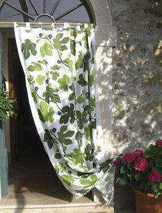 Tyg Ljungbergs - Fiki | Östermalms Textilateljé Textiles, Curtains, Shower, Prints, Design, Rain Shower Heads, Blinds, Showers