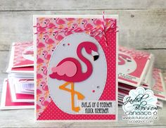 Candi O Designs: Flamingos...