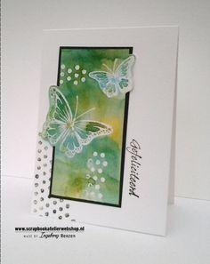 HP Stempel 87b, Set 3 vlinders frontaal