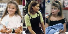 From her double bangs to her incredible bob, DJ's hair was the best part about Full House. Dj Tanner, Retro Outfits, Cute Casual Outfits, Dj Full House, Michael Champion, Candice Cameron Bure, Candance Cameron, Cameron Hair, Dan Mumford