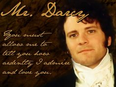 Oh Mr. Darcy!
