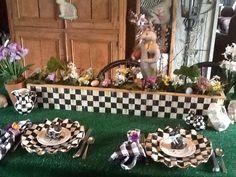 Mackenzie Childs inspired Easter table