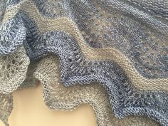 Neoma's Shawl by Romi. Yarn by Skein Queen and Posh Shawl, Queen, Knitting, Tricot, Cast On Knitting, Stricken, Weaving, Knits, Yarns