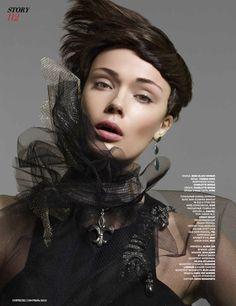 Sara von Schrenk on Fashion Served