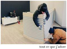 Desk Dividers, Bean Bag Chair, Furniture, Home Decor, Bean Bag Chairs, Interior Design, Home Interior Design, Bean Bags, Arredamento