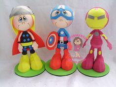 fofucha de los cuatro super heroes hulk - Buscar con Google