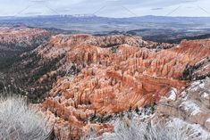 Elevated View On Bryce Canyon  by PhotographerJen on @creativemarket #Landscape #Mountains #BryceCanyon #Design #CreativeMarket