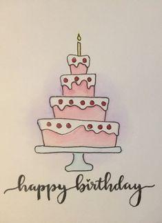 66 Ideas Birthday Card Diy Drawing Paper Crafts For 2019 - - 66 Ideas Birthday Card Diy Drawing Paper Crafts For 2019 Ideas/Cards/Fonts/Stuff… Birthday Greetings For Dad, Cute Birthday Cards, Birthday Cards For Friends, Bday Cards, Handmade Birthday Cards, Birthday Greeting Cards, Greeting Cards Handmade, Ideas For Birthday Cards, Birthday Crafts