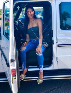 casual outfitscasual fashioneveryday outfitseveryday fashionbasic clothes Source by ashhmark idea black girl Girls Summer Outfits, Chill Outfits, Dope Outfits, Casual Outfits, Fashion Outfits, Outfits For Black Girls, Fashion Styles, Summer Fashions, Woman Outfits