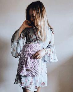 """Polubienia: 175, komentarze: 10 – Justyna Broźna I BOHO handmade (@bloomart.handmade) na Instagramie: """"Hej Dziewczyny 💁🏻♀️ weeked zapowiada się cieplutki, więc czas przygotować sukienki 😍 lubicie?  Na…"""" Kimono Top, Boho, Women, Fashion, Moda, Fashion Styles, Fashion Illustrations, Bohemian, Bohemia"""