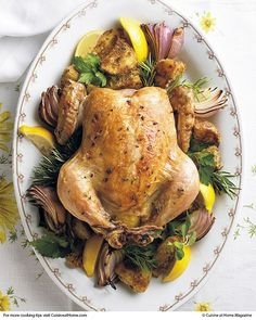 Techniques for Roasting Chicken | Cuisine at home eRecipes