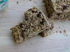 "Good"" base"" Granola Bar recipe--you can add lots of your own goodies!"