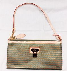 Клатч Louis Vuitton натуральная кожа + фирменный материал LV. Размер 28х15х2см. #16747